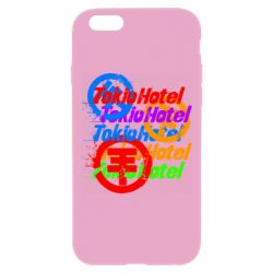 Чехол для iPhone 6 Plus/6S Plus Tokio Hotel many logos