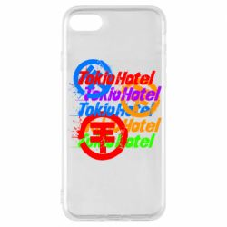 Чехол для iPhone 7 Tokio Hotel many logos