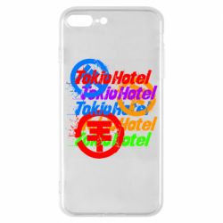 Чехол для iPhone 8 Plus Tokio Hotel many logos