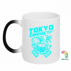 Кружка-хамелеон Токійський гуль