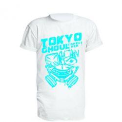 Подовжена футболка Токійський гуль