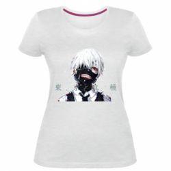 Жіноча стрейчева футболка Токійський Гуль
