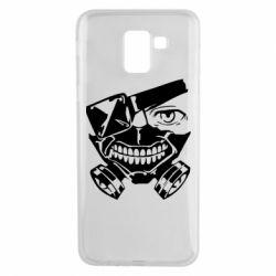 Чохол для Samsung J6 Tokyo Ghoul mask