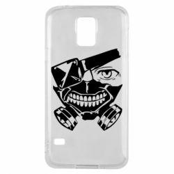 Чохол для Samsung S5 Tokyo Ghoul mask