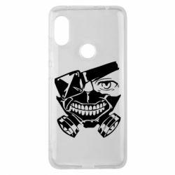 Чехол для Xiaomi Redmi Note 6 Pro Tokyo Ghoul mask