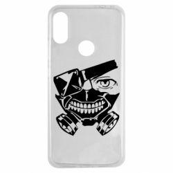 Чехол для Xiaomi Redmi Note 7 Tokyo Ghoul mask