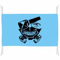 Прапор Tokyo Ghoul mask