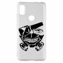 Чехол для Xiaomi Redmi S2 Tokyo Ghoul mask