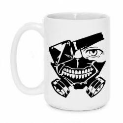 Кружка 420ml Tokyo Ghoul mask