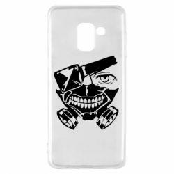 Чохол для Samsung A8 2018 Tokyo Ghoul mask