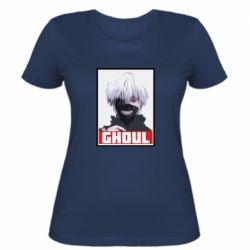 Женская футболка Tokyo Ghoul portrait