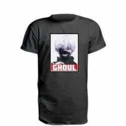 Удлиненная футболка Tokyo Ghoul portrait