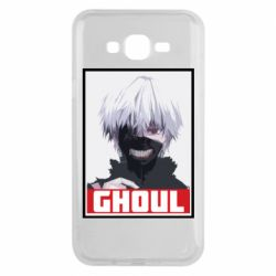 Чехол для Samsung J7 2015 Tokyo Ghoul portrait