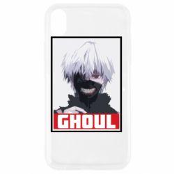 Чехол для iPhone XR Tokyo Ghoul portrait