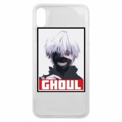 Чехол для iPhone Xs Max Tokyo Ghoul portrait
