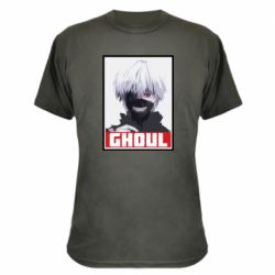 Камуфляжная футболка Tokyo Ghoul portrait