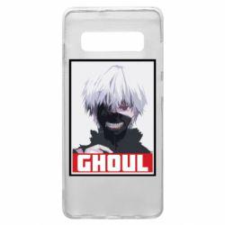 Чехол для Samsung S10+ Tokyo Ghoul portrait