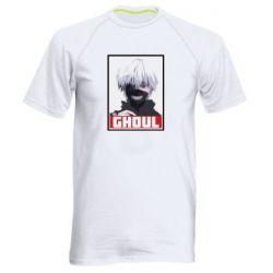 Мужская спортивная футболка Tokyo Ghoul portrait
