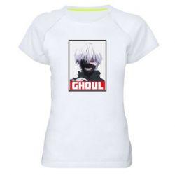 Женская спортивная футболка Tokyo Ghoul portrait