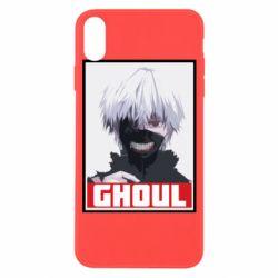 Чехол для iPhone X/Xs Tokyo Ghoul portrait