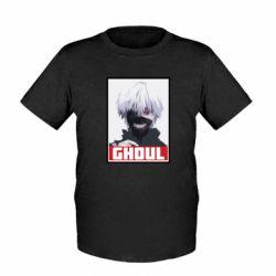 Детская футболка Tokyo Ghoul portrait