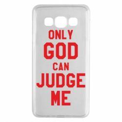 Чохол для Samsung A3 2015 Тільки Бог може судити мене