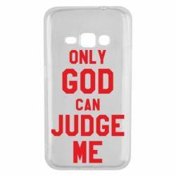 Чохол для Samsung J1 2016 Тільки Бог може судити мене