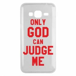 Чохол для Samsung J3 2016 Тільки Бог може судити мене
