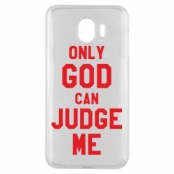 Чохол для Samsung J4 Тільки Бог може судити мене