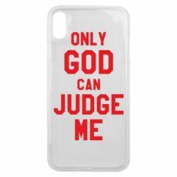 Чохол для iPhone Xs Max Тільки Бог може судити мене