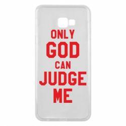 Чохол для Samsung J4 Plus 2018 Тільки Бог може судити мене