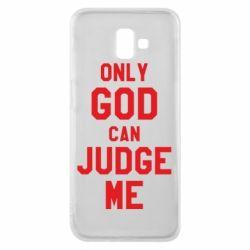 Чохол для Samsung J6 Plus 2018 Тільки Бог може судити мене