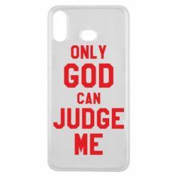 Чохол для Samsung A6s Тільки Бог може судити мене