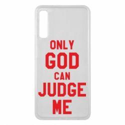 Чохол для Samsung A7 2018 Тільки Бог може судити мене