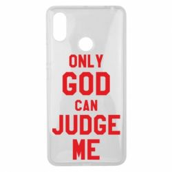 Чохол для Xiaomi Mi Max 3 Тільки Бог може судити мене