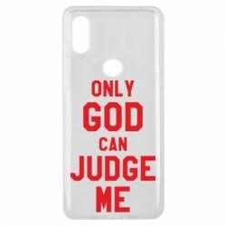 Чохол для Xiaomi Mi Mix 3 Тільки Бог може судити мене