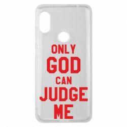 Чохол для Xiaomi Redmi Note Pro 6 Тільки Бог може судити мене