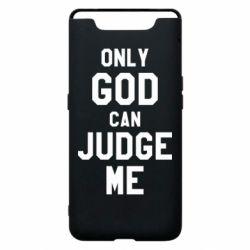 Чохол для Samsung A80 Тільки Бог може судити мене