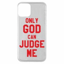 Чохол для iPhone 11 Тільки Бог може судити мене