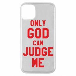 Чохол для iPhone 11 Pro Тільки Бог може судити мене