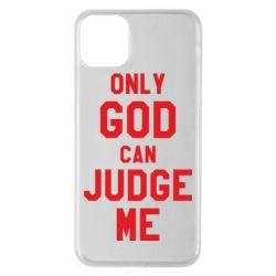 Чохол для iPhone 11 Pro Max Тільки Бог може судити мене