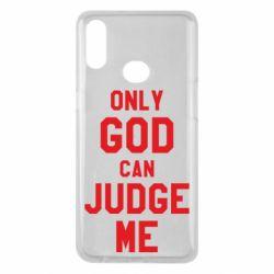 Чохол для Samsung A10s Тільки Бог може судити мене