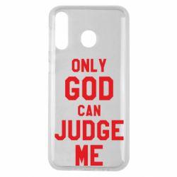 Чохол для Samsung M30 Тільки Бог може судити мене