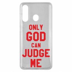 Чохол для Samsung M40 Тільки Бог може судити мене