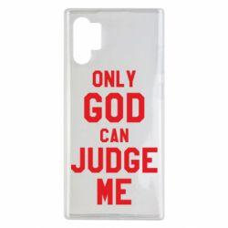 Чохол для Samsung Note 10 Plus Тільки Бог може судити мене