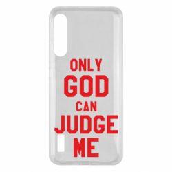 Чохол для Xiaomi Mi A3 Тільки Бог може судити мене