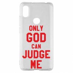 Чохол для Xiaomi Redmi S2 Тільки Бог може судити мене