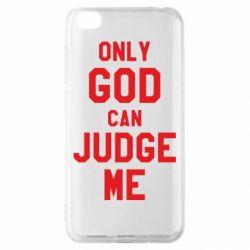 Чохол для Xiaomi Redmi Go Тільки Бог може судити мене