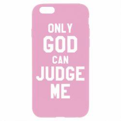 Чохол для iPhone 6 Plus/6S Plus Тільки Бог може судити мене