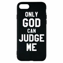 Чохол для iPhone 8 Тільки Бог може судити мене